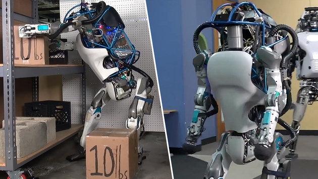 Google-Roboter ist faszinierend furchteinflößend (Bild: YouTube.com)