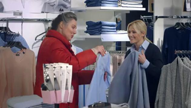Helene Fischer als Verkäuferin (Bild: Tchibo)