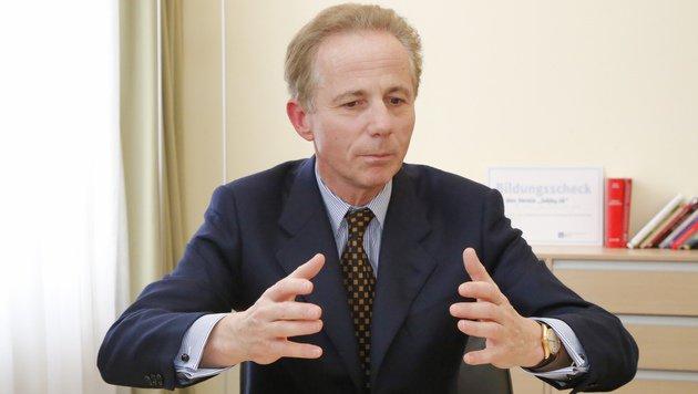 IV-Chef Georg Kapsch (Bild: Martin Jöchl)
