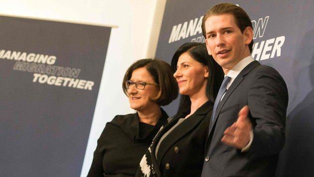 Österreich schmiedet Pakt gegen Flüchtlingsströme (Bild: AFP)