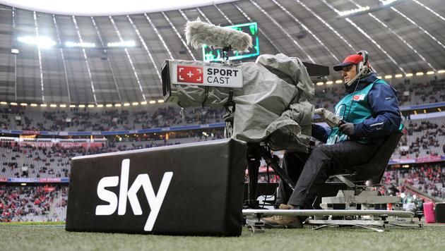 Sky muss um deutsche Bundesliga-Rechte zittern (Bild: dpa/Andreas Gebert)