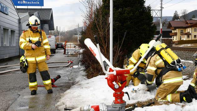 Scharfschütze schoss auf brennende Gasflasche (Bild: Gerhard Schiel)