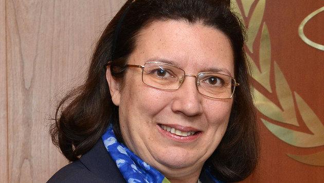 Griechenlands Botschafterin Chryssoula Aliferi wurde nach Athen zurückbeordert. (Bild: IAEA Imagebank)