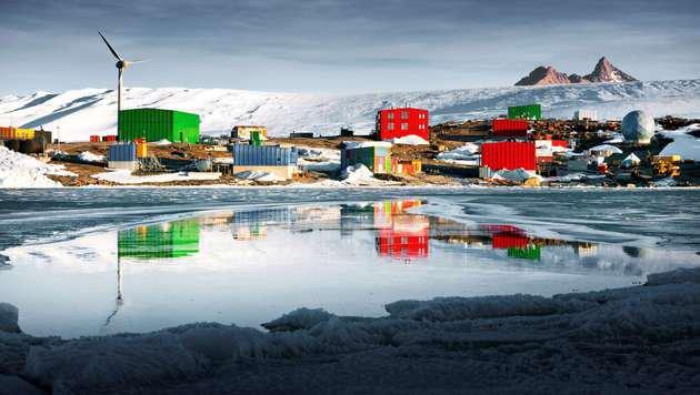 Archivbild: Die Mawson Station in der Antarktis (Bild: APA/AFP/Australian Antarctic Division/Chris Wilson)