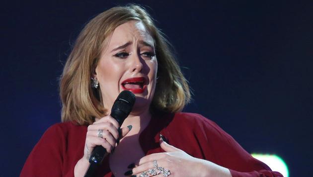 Adele weinte Tränen der Rührung. (Bild: Joel Ryan/Invision/AP)