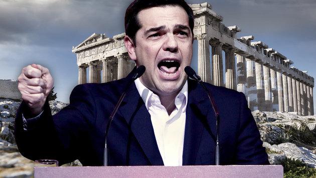 Griechenlands Regierungschef Alexis Tsipras (Bild: APA/AFP/ANGELOS TZORTZINIS, thinkstockphotos.de)