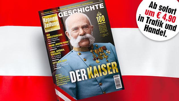 """Die """"Krone"""" er�ffnet das Kaiser-Jahr 2016"""