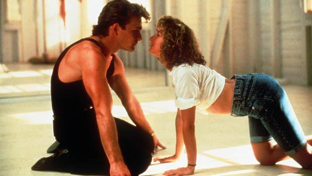 """Patrick Swayze und Jennifer Grey im 80er-Jahre-Kinohit """"Dirty Dancing"""" (Bild: Viennareport)"""