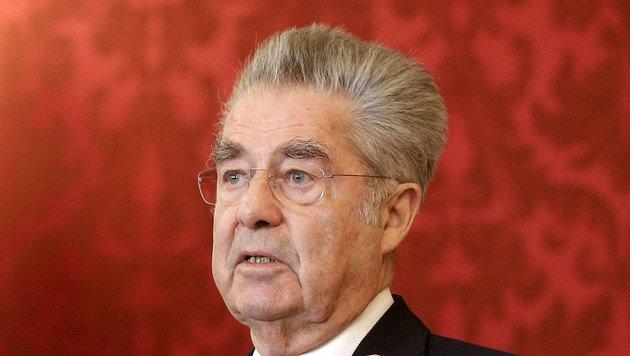 Noch-Bundespräsident Heinz Fischer (Bild: APA/BUNDESHEER/PETER LECHNER)