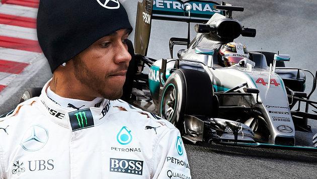 "Hamilton kritisiert neue F1-Regeln: ""Lächerlich!"" (Bild: ASSOCIATED PRESS, APA/AFP/JOSE JORDAN)"