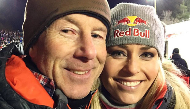 Lindsey Vonn & Stenmark: Liebe auf ersten Blick! (Bild: twitter.com)