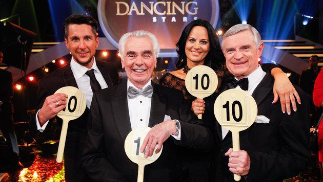 Die Dancing-Stars-Jury (Bild: APA/ORF)