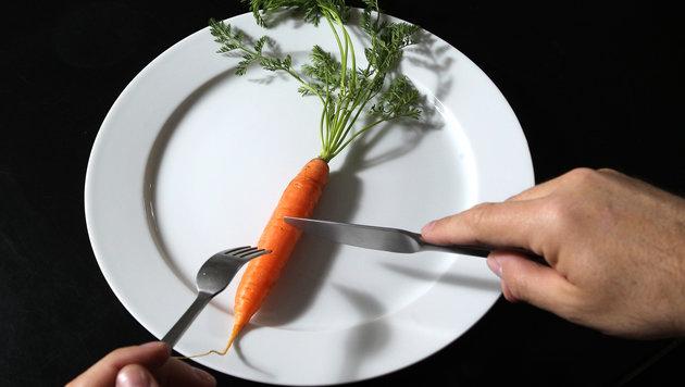 Radikal-Diäten sind meist erfolglos! (Bild: APA/GEORG HOCHMUTH)