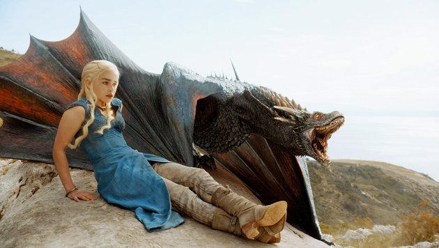 Emilia Clarke als Khaleesi (Bild: HBO)