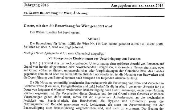 Quartiere ohne Bewilligung: FPÖ kündigt Klage an (Bild: Krone)