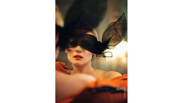 Geheimnisvoll mit Bunny-Ohren gibt sich Filmschönheit Diane Kruger. (Bild: Viennareport)