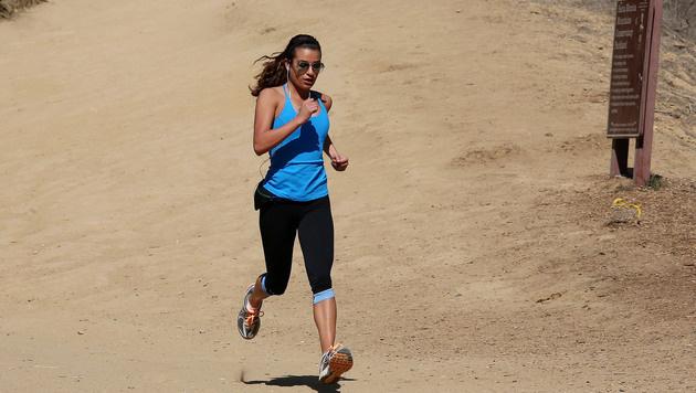Lea Michele macht lieber Sport, als Diät zu halten. (Bild: Viennareport)