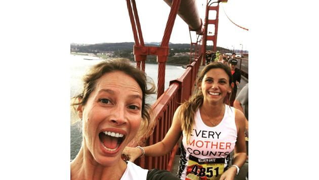 Christy Turlington hat kürzlich am Golden Gate Marathon teilgenommen. (Bild: Viennareport)
