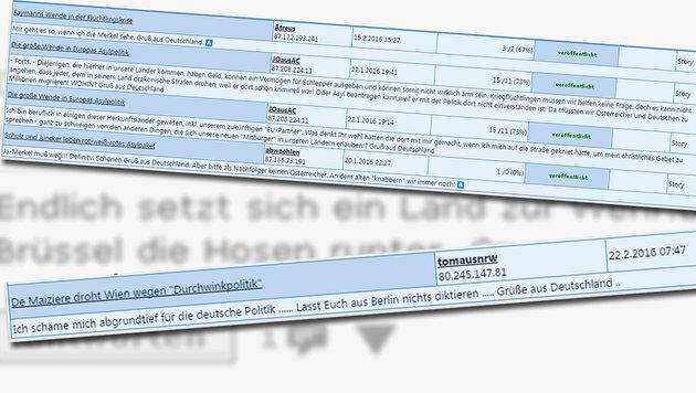 Jetzt doch: Deutsches Lob für unsere Asylpolitik