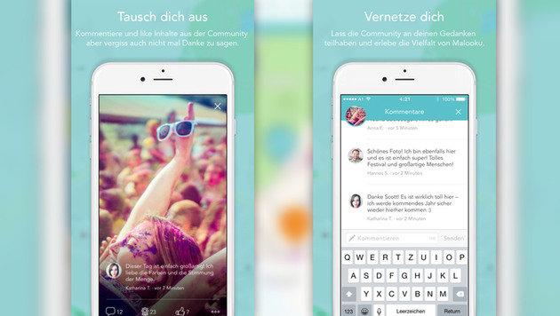 """Malooku: Neue App für Partypeople (Bild: iTunes)"""