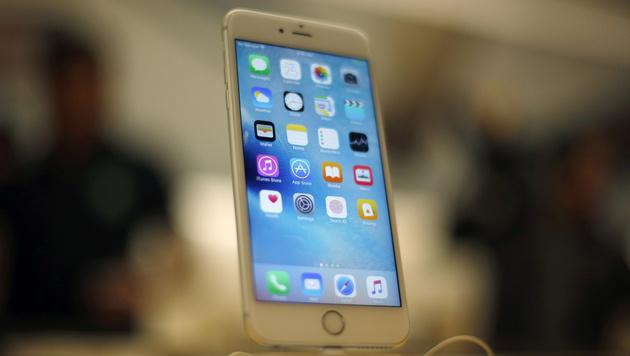 Apple will mit Fingerscanner Handyräuber fassen (Bild: AP)