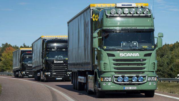 Ericsson und Scania wollen LKW vernetzen (Bild: Scania)