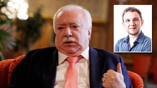 """Häupl zur Causa Rainer: """"Ich entscheide das nicht"""" (Bild: Klemens Groh, APA/DR. GERNOT RAINER)"""