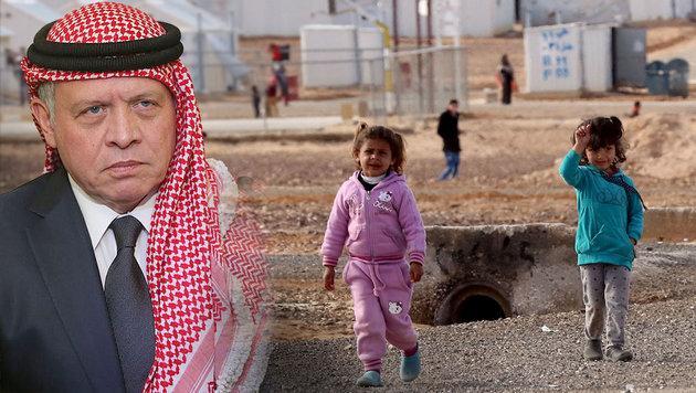 Abdullah II. fährt in Jordanien einen flexiblen Kurs, der das Wüstenland aus Kriegen heraushält. (Bild: AFP)