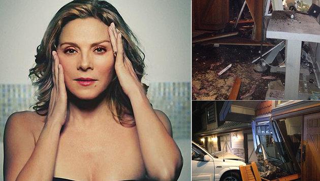"""Schock für """"Sex and the City""""-Star: In das Haus von Kim Cattrall in Kanada ist ein Auto gekracht. (Bild: Viennareport)"""