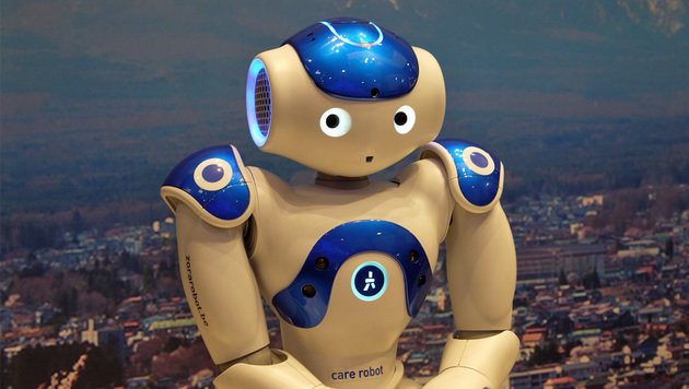 Roboter: Nützlicher Helfer oder Rivale im Job? (Bild: Dominik Erlinger)