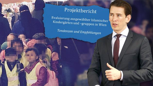 Wien: Vernichtendes Zeugnis für Islam-Kindergärten (Bild: Krone, APA/AUSSENMINISTERIUM/DRAGAN TATIC, Universität Wien)