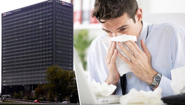 Wiener Beamte sind pro Jahr einen Monat lang krank (Bild: Wikimedia Commons/Domser, thinkstockphotos.de)
