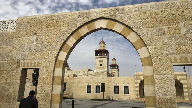 Der Königspalast in der jordanischen Hauptstadt (Bild: APA/AFP/CARLO ALLEGRI)