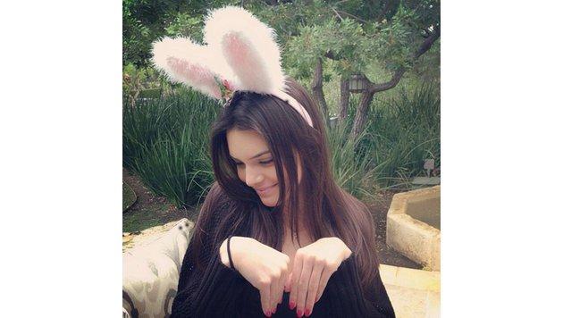 """Sehr posierlich ist Kendall """"Häschen"""" Jenner! (Bild: Viennareport)"""