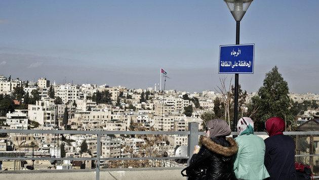 In der jordanischen Hauptstadt Amman pulsiert das moderne Leben. (Bild: AP)