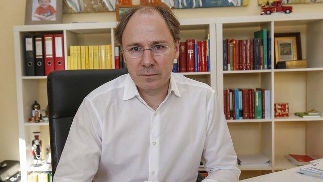 """Anwalt Stefan Rieder vom Opferschutzverein """"Weißer Ring"""" (Bild: MARKUS TSCHEPP)"""