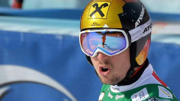 """""""Bester Speedfahrer""""! Marcel Hirscher pfeilschnell (Bild: APA/BARBARA GINDL)"""