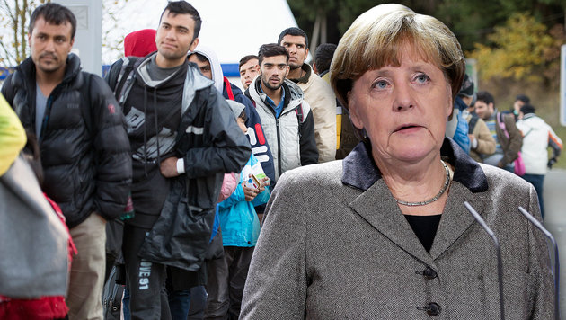 Jetzt will auch Deutschland Grenzen dicht machen (Bild: ASSOCIATED PRESS, APA/dpa-Zentralbild/Sebastian Kahnert)