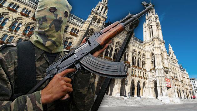 Terror-Finanzierung über Wiens Islam-Kindergärten? (Bild: SAID KHATIB/AFP/picturedesk.com, thinkstockphotos.de)