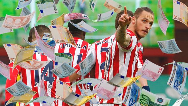 Arnautovic: Nach Doppelpack zum teuersten Spieler? (Bild: APA/AFP/LINDSEY PARNABY)