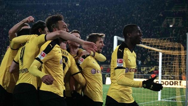 Bayern-Jäger Dortmund mit Schiri-Dusel zum Sieg (Bild: AFP or licensors)