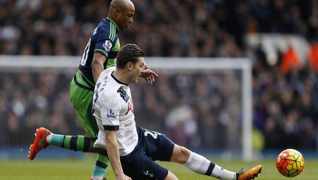 Kevin Wimmer rutscht mit Tottenham in Richtung Ligaspitze! (Bild: AP)