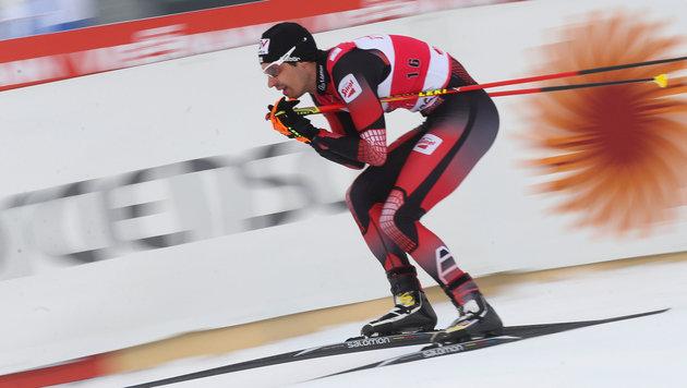 Lukas Klapfer in Val di Fiemme Weltcup-Fünfter (Bild: GEPA)