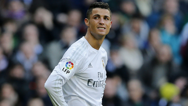 """Ronaldo vergibt """"100er"""" und raunzt über Mitspieler (Bild: AP)"""