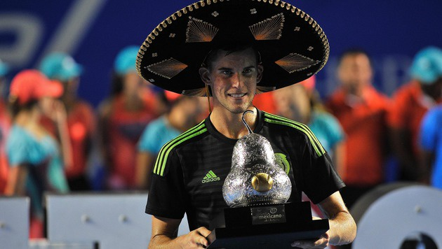 Thiem, Superstar! Größter Turniersieg in Acapulco (Bild: APA/AFP/PEDRO PARDO)