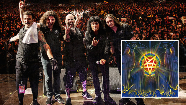 Anthrax und die Suche nach dem Jungbrunnen (Bild: Nuclear Blast)
