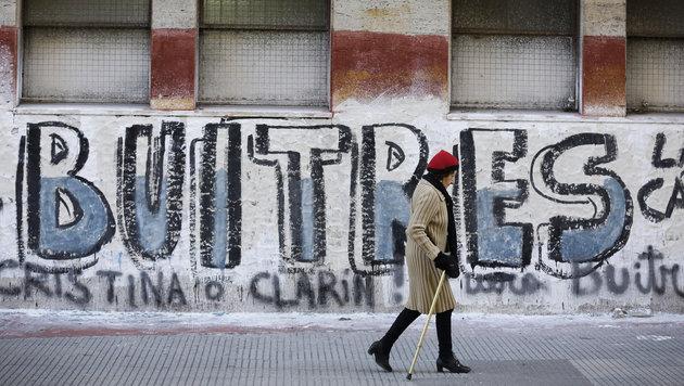 Argentinien einigt sich mit US-Hedgefonds (Bild: AP)