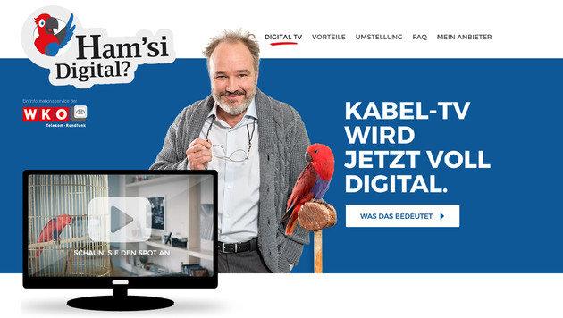 Aus für Analog-TV: Kabelfernsehen wird digital (Bild: digitaleskabel.at)