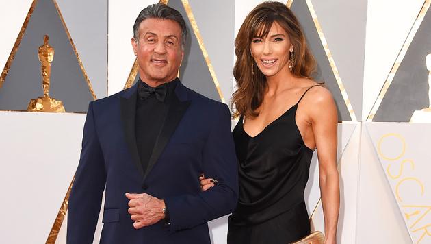Sylvester Stallone und Jennifer Flavin (Bild: Jordan Strauss/Invision/AP)