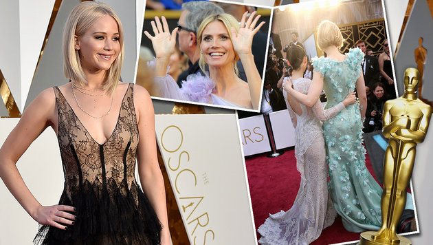 Die schönsten Bilder der Oscarnacht 2016 (Bild: APA/AFP, Invision/AP, AP)